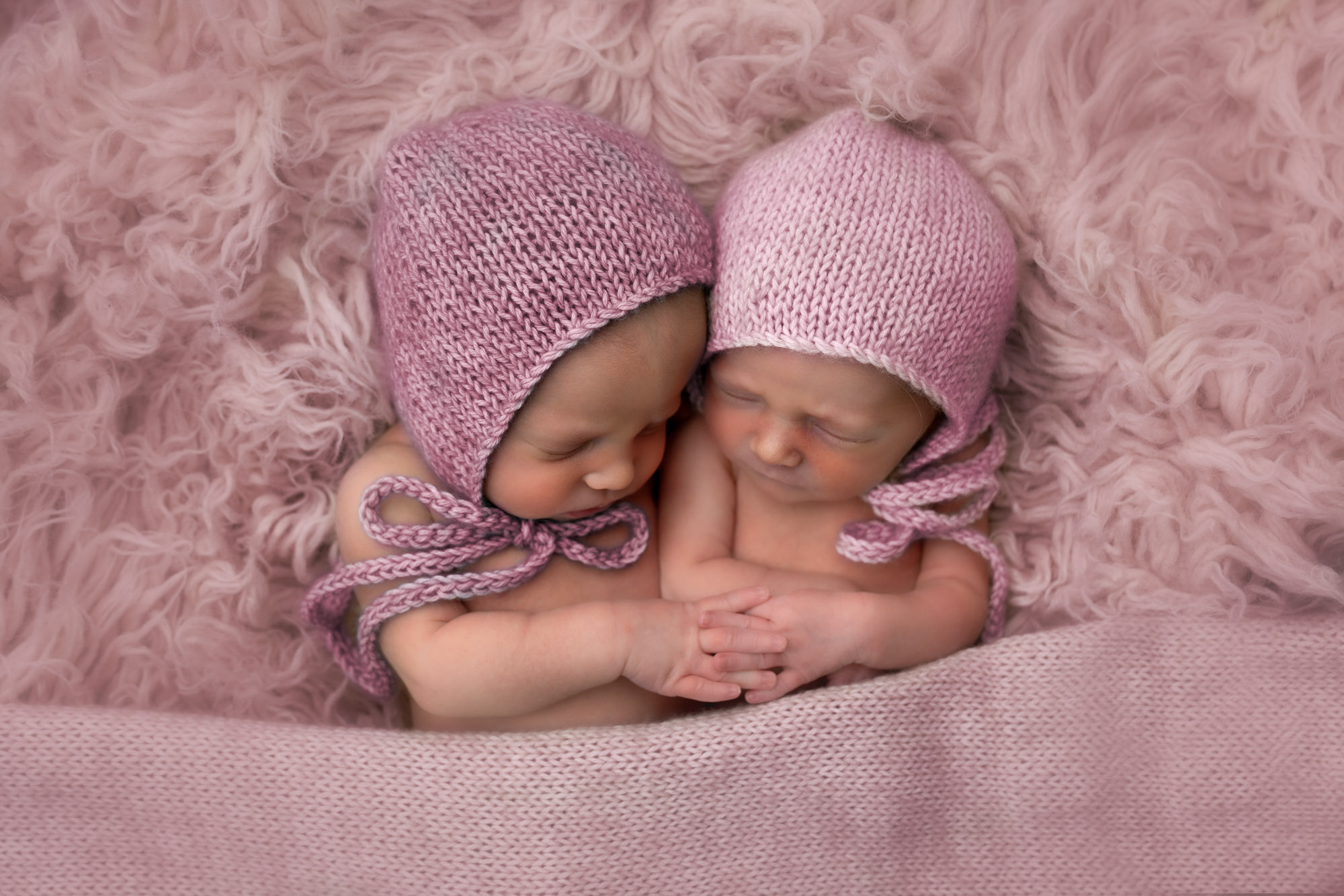 Twins Newborn Photoshoot